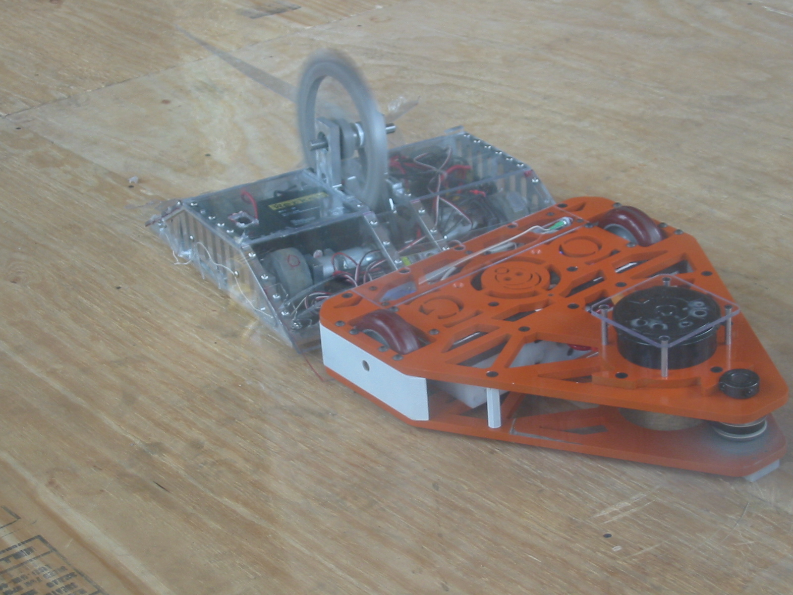 Picture of Evaluation of My Robot