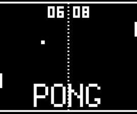 Arduino Pong