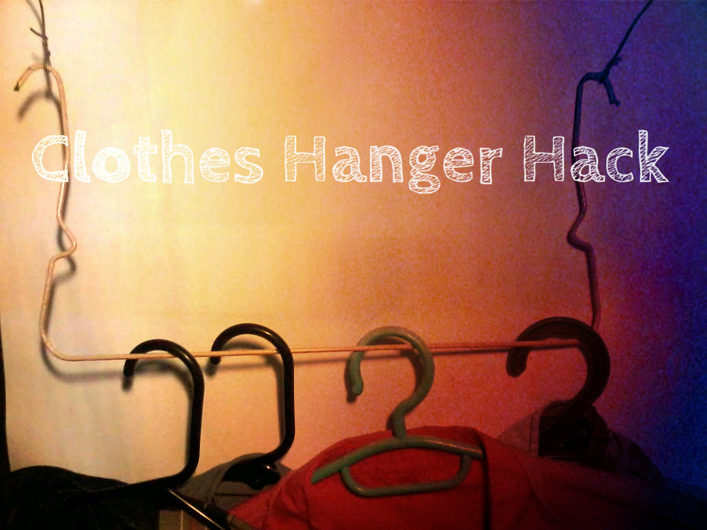 Picture of Clothes Hanger Hack