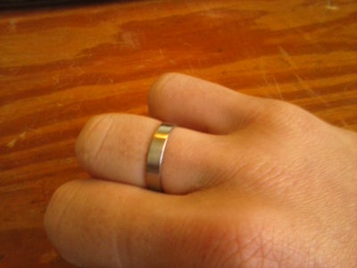 Make a Steel Ring From a Coat Hanger!