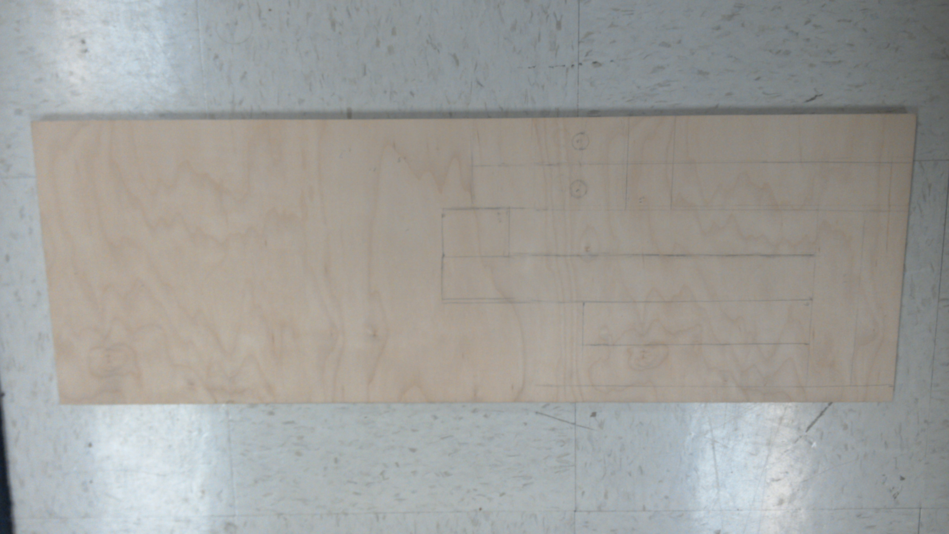 Picture of Draw Out the Dimensions and Cut Your Wood