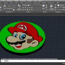 Super Mario Face Fidget Spinner