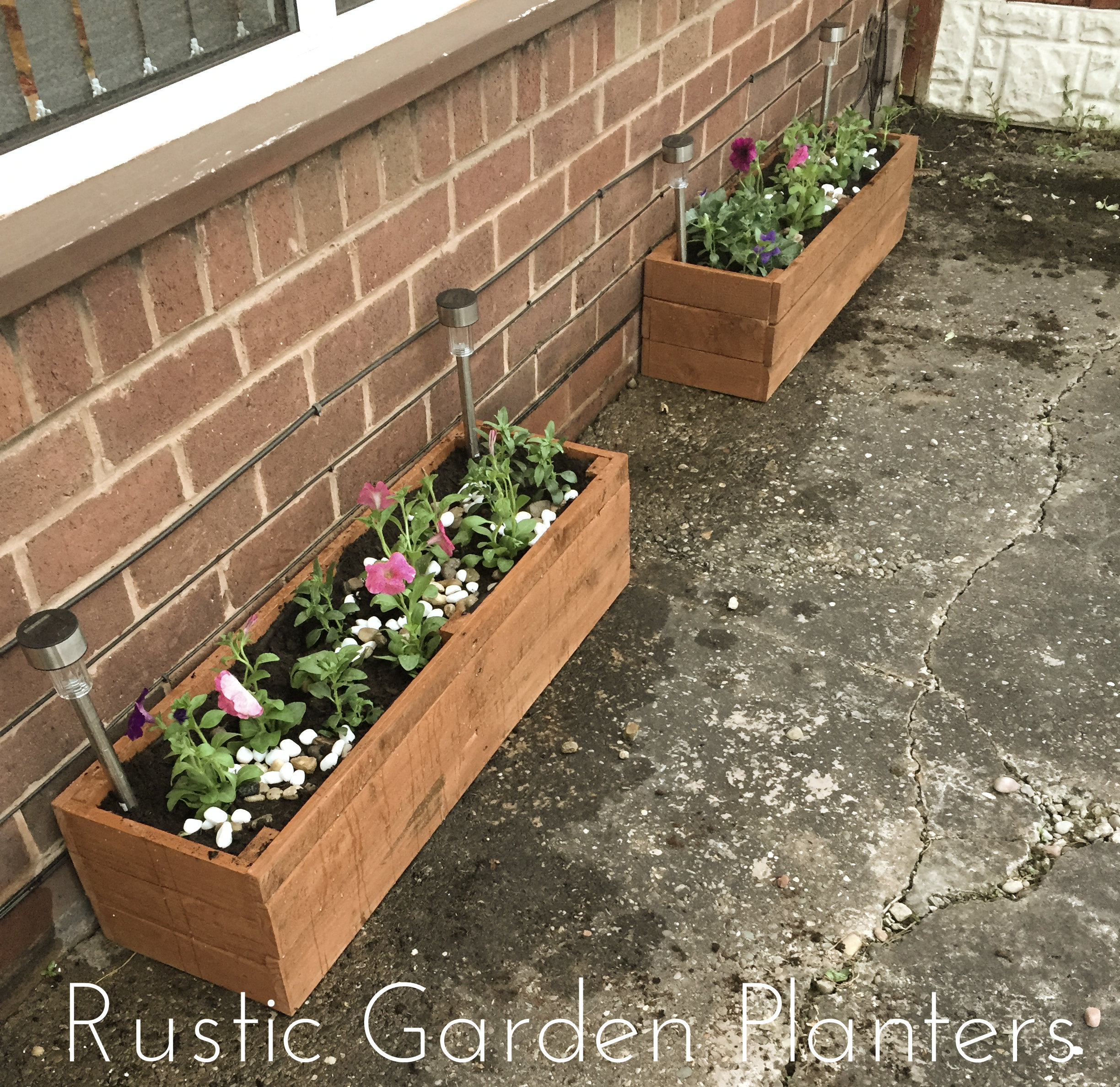 Picture of Rustic Garden Planters