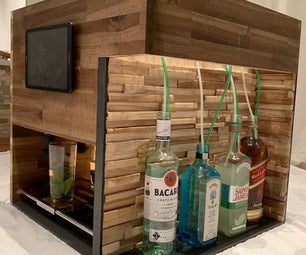 Automated Cocktail Drink Machine
