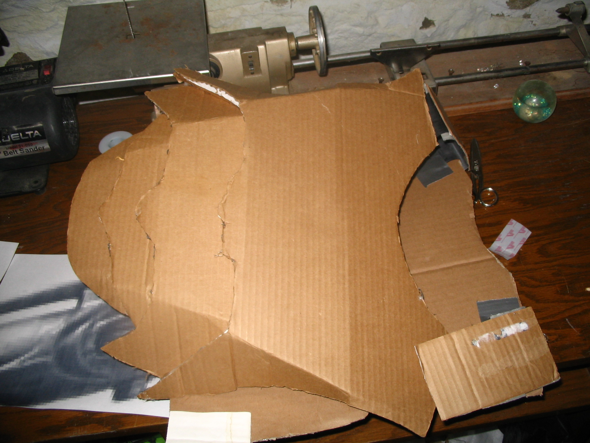 Picture of Taping and Cutting