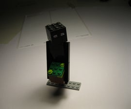 LEGO Enderman ( Minecraft )