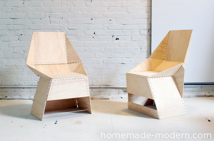 Picture of HomeMade Modern DIY the ZipStich Chair