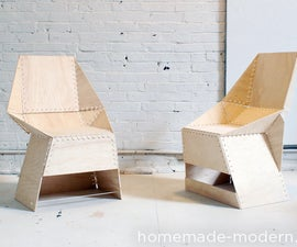 HomeMade Modern DIY The ZipStich Chair