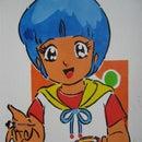 Disposable Stencil: Yu Morisawa (Magical Angel Creamy Mami)
