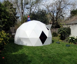 Folding Geodesic Dome