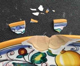 Repairing and Restoring Chipped, Pottery, China, Ceramic or Figurine