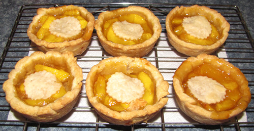 Picture of Simply Scrumptious Peach Tarts