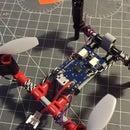 Super simple Lego Technic RC quadcopter Frame
