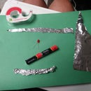 Simple Circuits With Tinfoil, an LED, Tape and Batteries