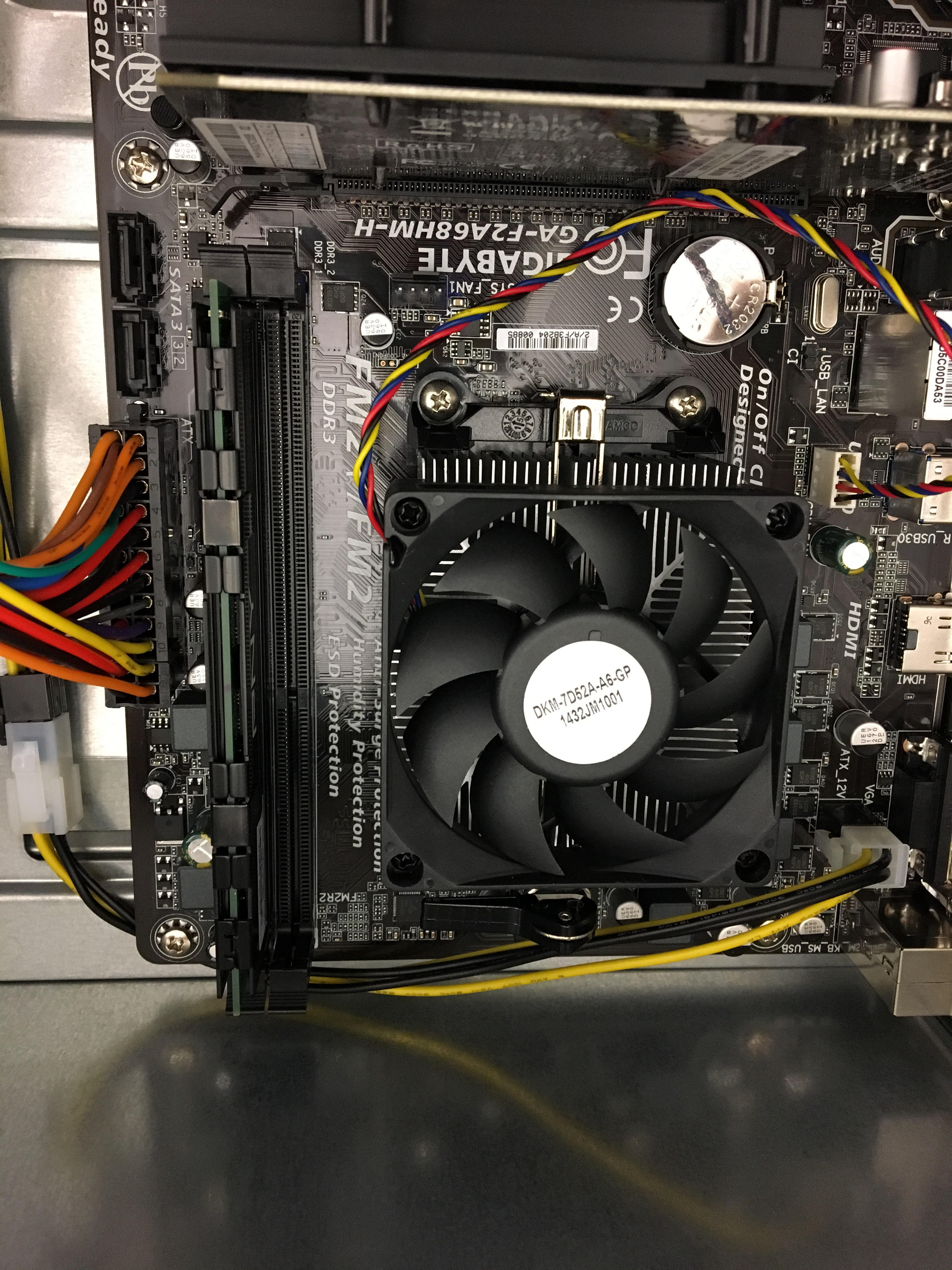 Picture of Step 11: Connect the Motherboard Power Cables