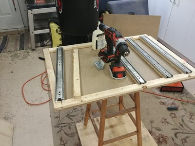 Building the Tool Cabinet Frame