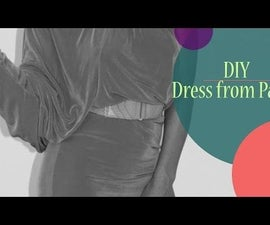 DIY: How to make a dress from pants