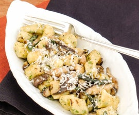 Fluffy Ricotta Gnocchi from Scratch with Brown Butter Sage Sauce