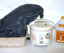 Garbage Bag + Rice Cooker = Alcohol Still