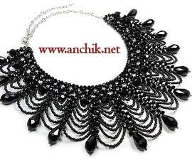 Tutorial: Beaded Collar Necklace
