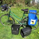 ​How to make quick bike bags - panniers from used jerrycans
