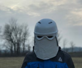 How to Make a Snowtrooper Skiing Helmet