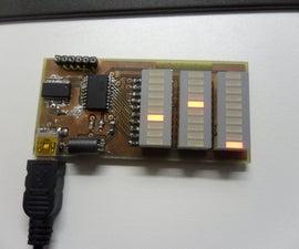 USB CPU and Memory monitor