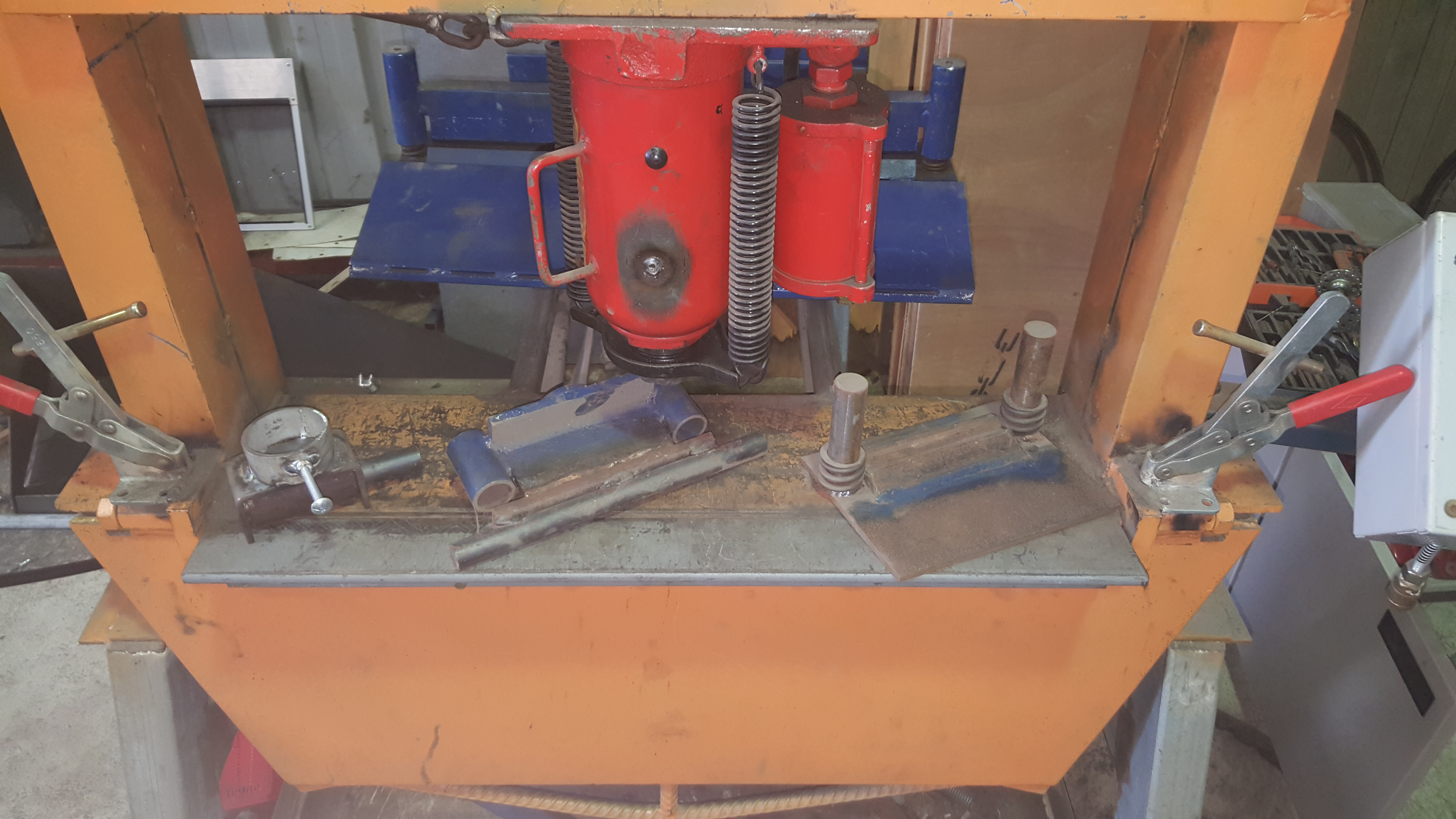Picture of 20 Ton Air Operated Pan Brake/press Combo