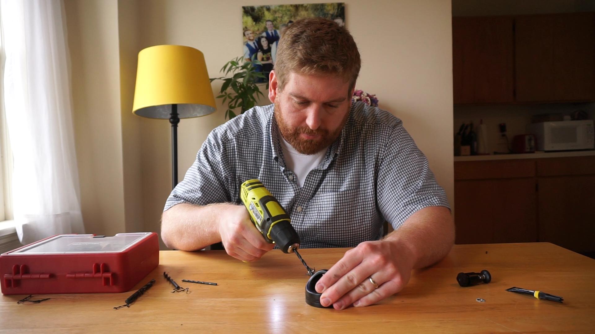 Picture of Drill. Glue.