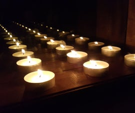 Infinity Mirror Candle Holder