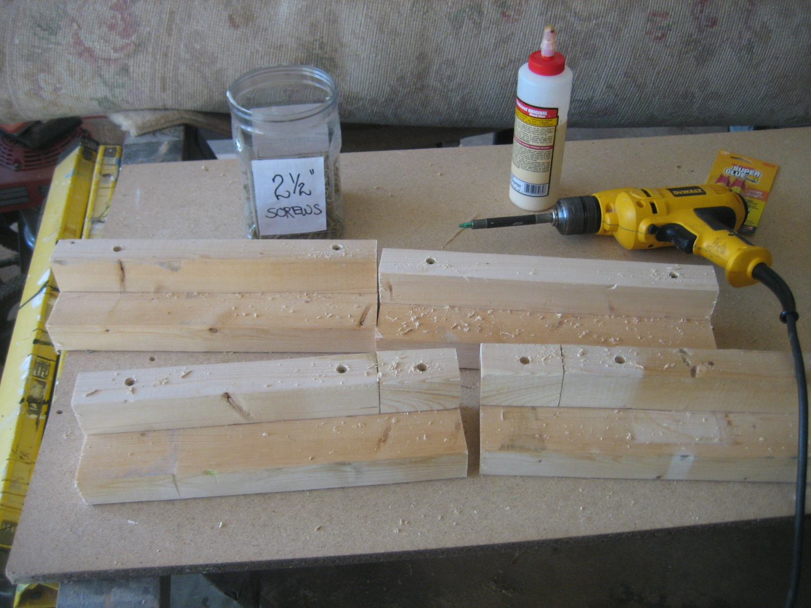 Picture of I CUT ALL THE LUMBER TO SIZE