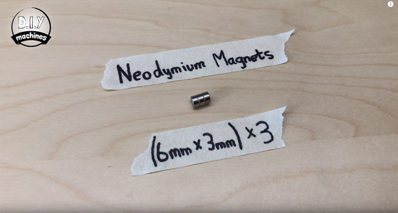 Attach Magnets to Chassis