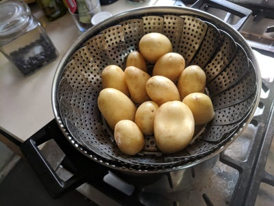Prepping the Potatoes