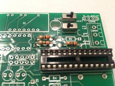 Place and Solder (R1, R2, R3)