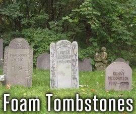 Decorative Halloween Tombstones