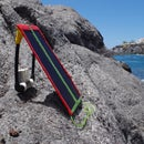 Solar charger for mobile phone 3 ways