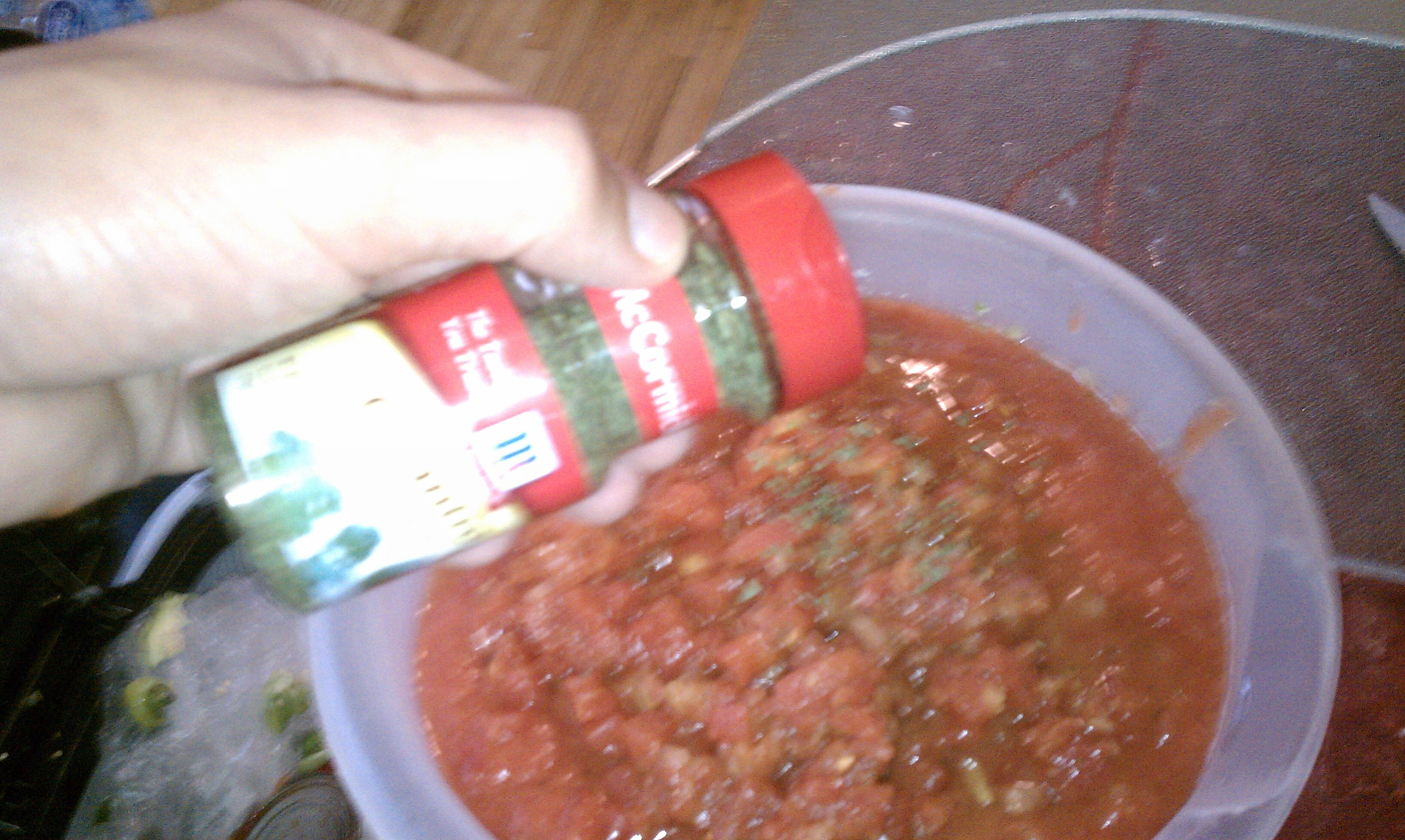 Picture of Step 7: Add the Seasoning