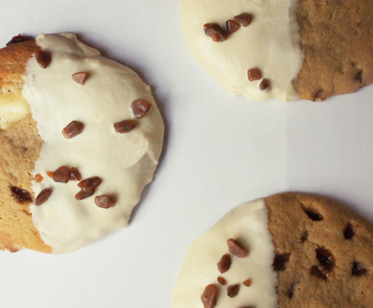 Picture of White Chocolate Butterscotch Cookies