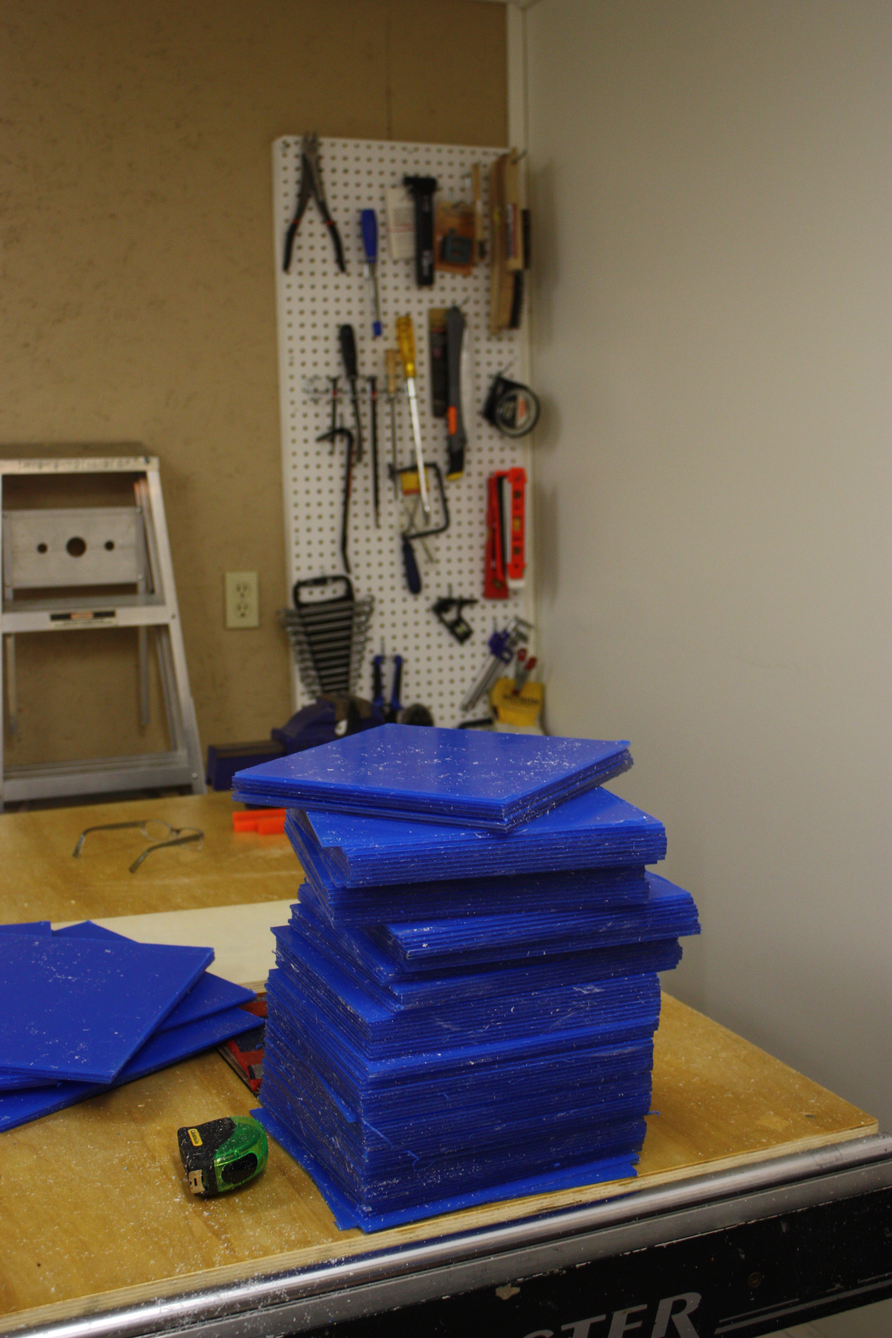 Picture of Laser Cutting - Large Sheets to Little Sheets