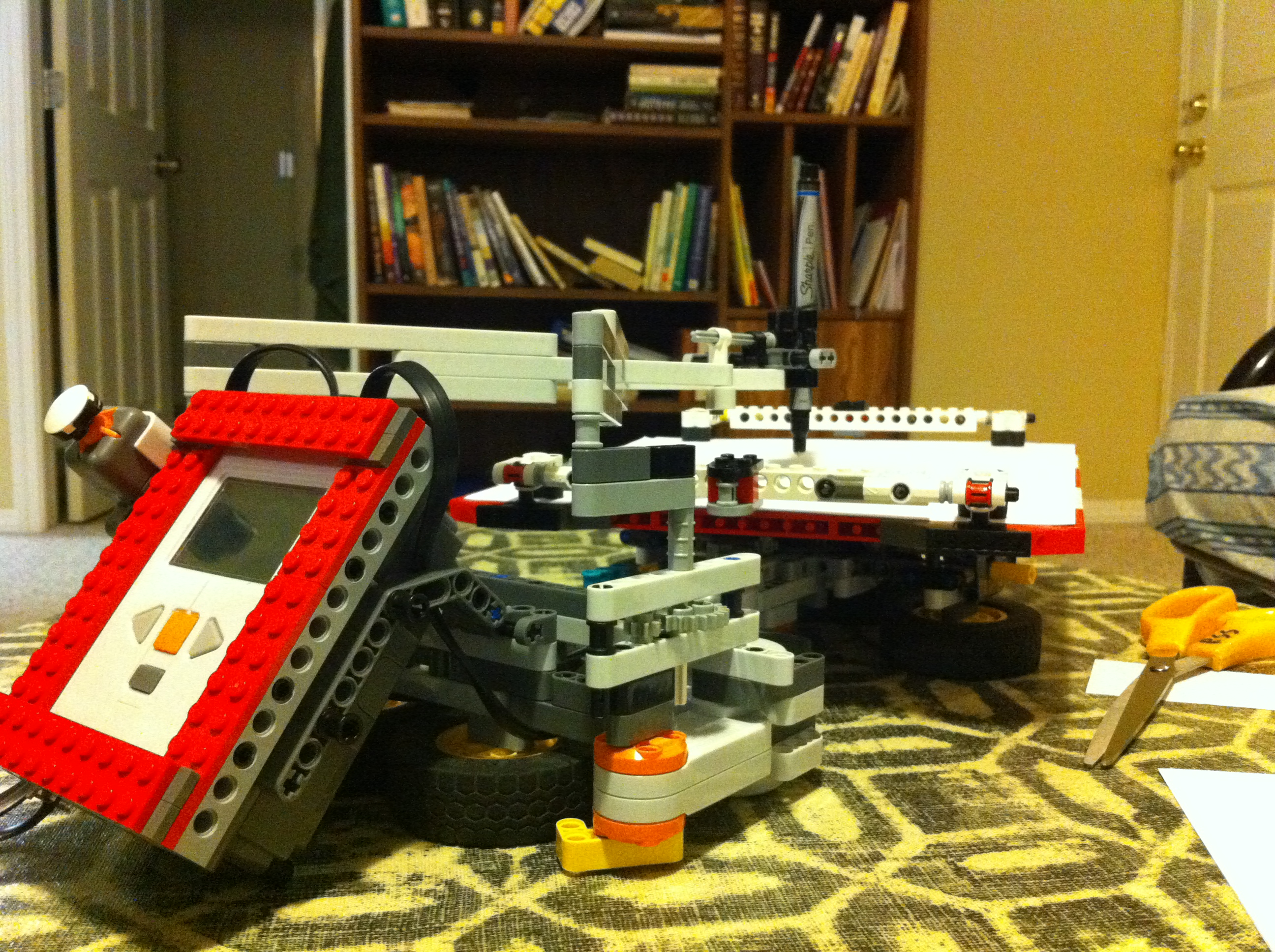 Picture of Build a Robotic Lego Multigraph