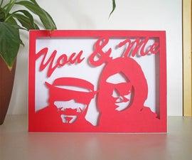 Customized Paper Cut Portrait