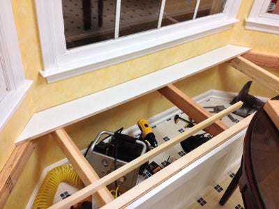 Building the Window Seat Top