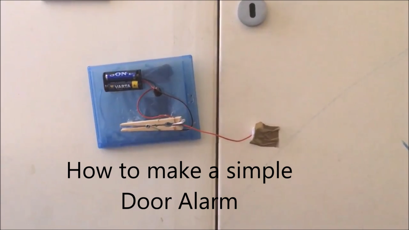 Picture of How to Make a Simple Door Alarm