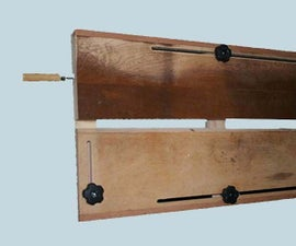 Router Dado Jig With Built-In Clamps
