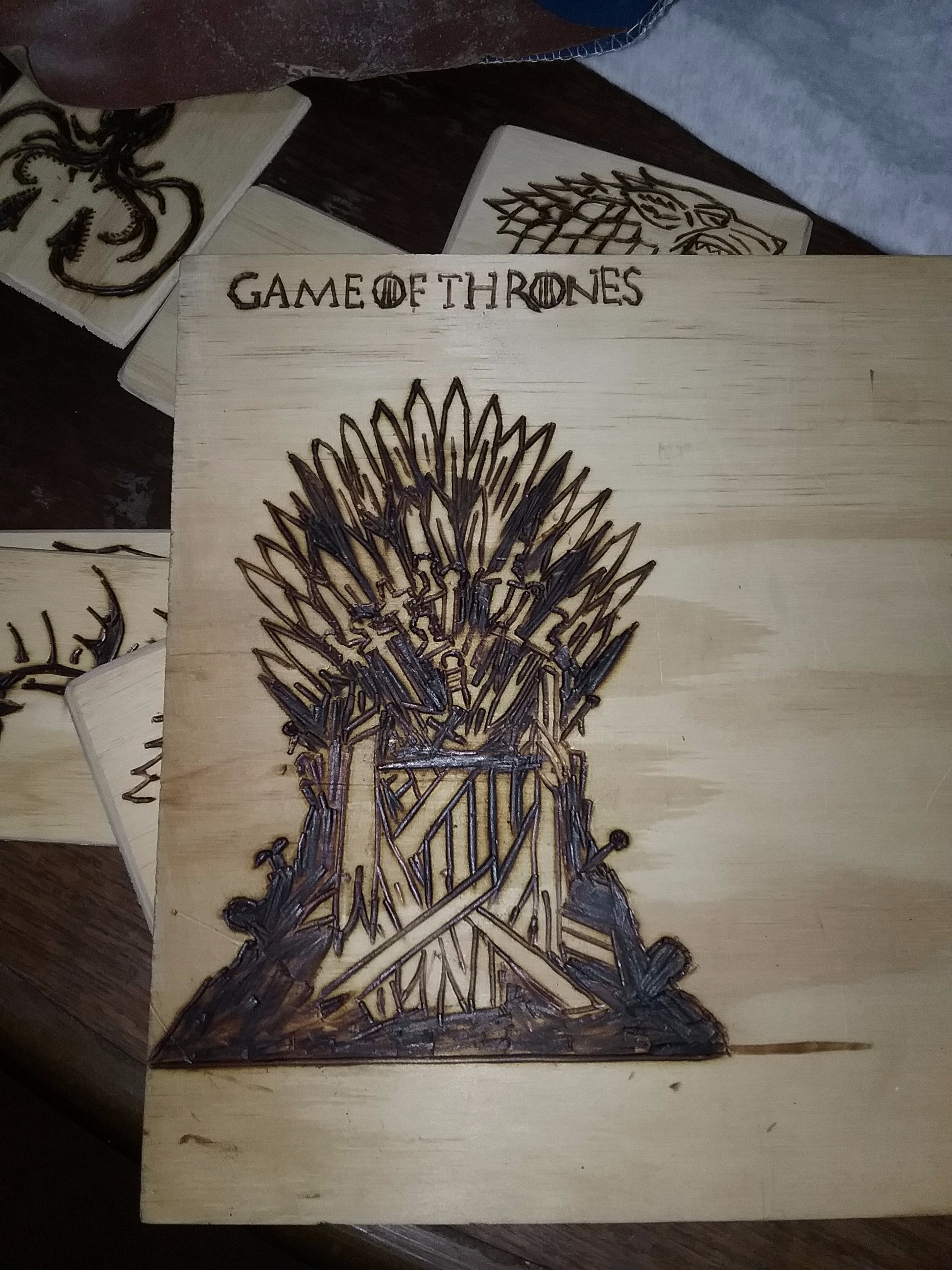Picture of Game of Trones Cheap Wood Gifts