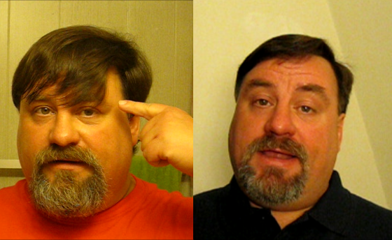 Picture of How to Cut Your Own Hair - for Men With Straight Hair