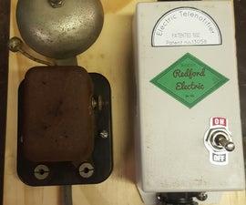 The Redford Electric Telenotifier