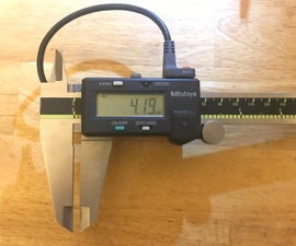 Bluetooth Wireless Interface for Mitutoyo Calipers and Indicators