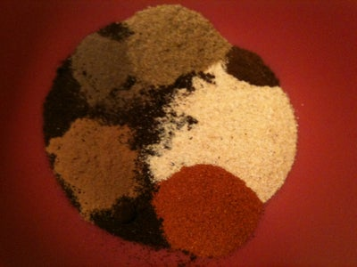Mixing the Spices