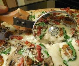 Hard Drivin Pizza Cutter